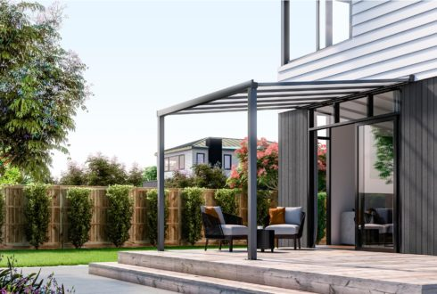 Pergolas don't require a building consent.